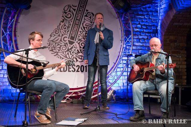 BILDES 2017 Folkkoncerts, uzstājas Uldis un Matīss Ozoli un Arnis Miltiņš.
